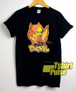 Vintage Tweety Devil t-shirt for men and women tshirt