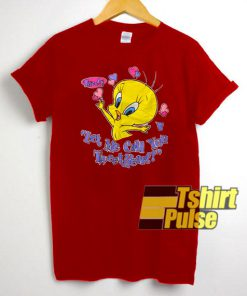 Vintage Tweety Valentines Day t-shirt for men and women tshirt
