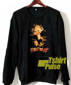 Vtg Friday the 13th sweatshirt