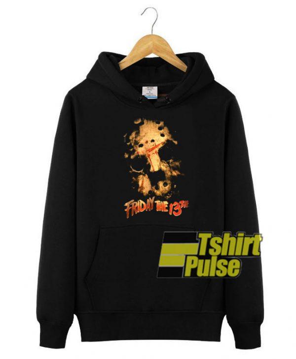 Vtg Friday the 13th hooded sweatshirt clothing unisex hoodie