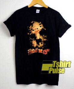 Vtg Friday the 13th t-shirt for men and women tshirt