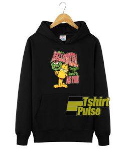 Vtg Garfield Halloween hooded sweatshirt clothing unisex hoodie