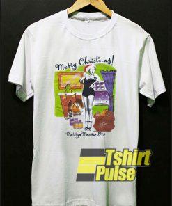 1946 Marilyn Monroe Christmas t-shirt for men and women tshirt