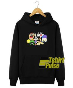 1993 Looney Tunes hooded sweatshirt clothing unisex hoodie
