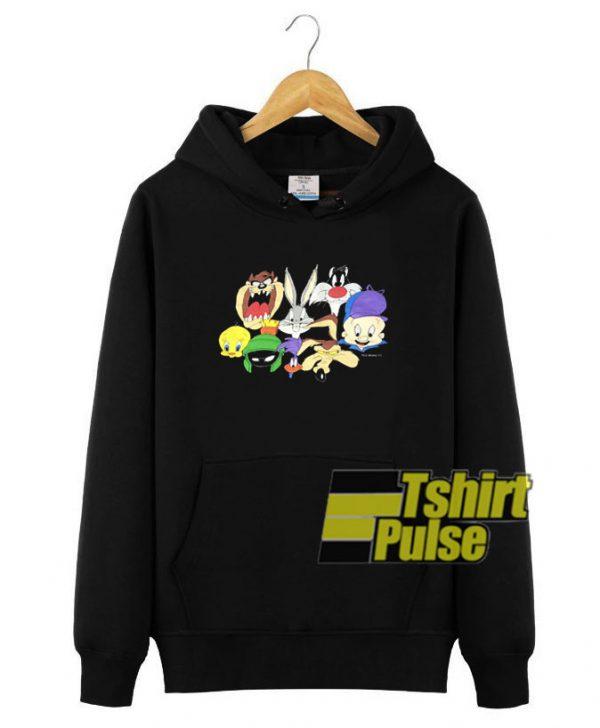 1993 Looney Tunes hooded sweatshirt clothing unisex hoodie