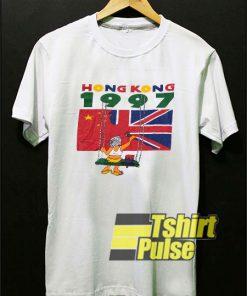 1997 Hongkong Tourist t-shirt for men and women tshirt