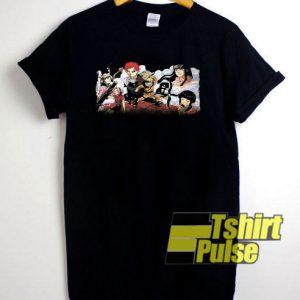 2002 Vintage Anime Naruto t-shirt for men and women tshirt