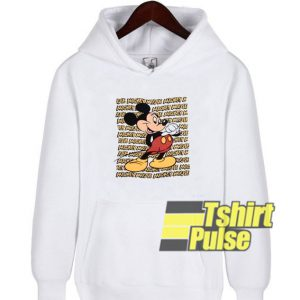 90s Mickey Mouse Cartoon hooded sweatshirt clothing unisex hoodie