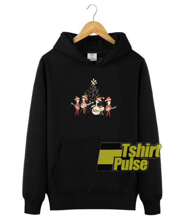 Beatles Christmas hooded sweatshirt clothing unisex hoodie