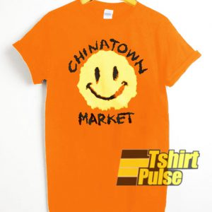 Chinatown Market X Smiley Smudge t-shirt for men and women tshirt