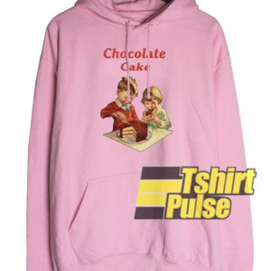 Chocolate Cake hooded sweatshirt clothing unisex hoodie