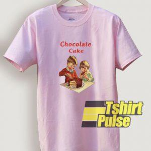 Chocolate Cake t-shirt for men and women tshirt