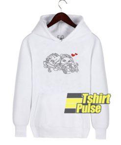Chucky and Tiffany Love hooded sweatshirt clothing unisex hoodie