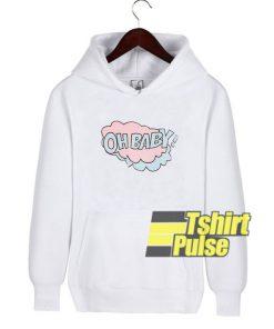 Cloud Oh Baby hooded sweatshirt clothing unisex hoodie