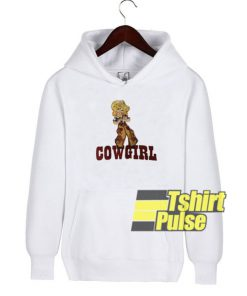 Cow Girl hooded sweatshirt clothing unisex hoodie