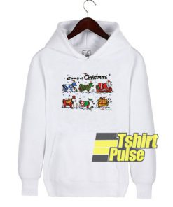 Cows of Christmas hooded sweatshirt clothing unisex hoodie