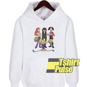 Daria Character hooded sweatshirt clothing unisex hoodie