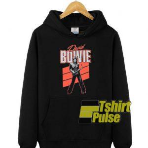 David Bowie Saxaphone hooded sweatshirt clothing unisex hoodie