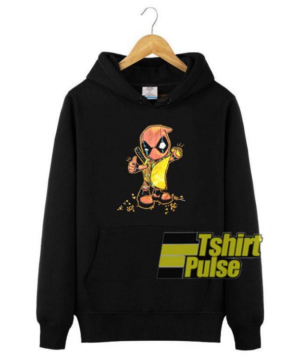 Deadpool Taco Candy hooded sweatshirt clothing unisex hoodie