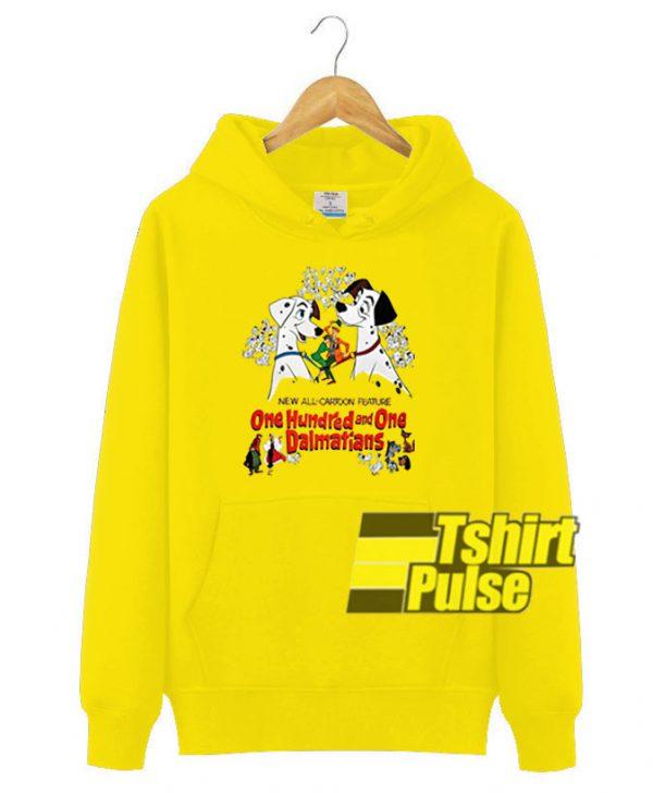 Disney 101 Dalmatians hooded sweatshirt clothing unisex hoodie