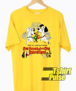 Disney 101 Dalmatians t-shirt for men and women tshirt