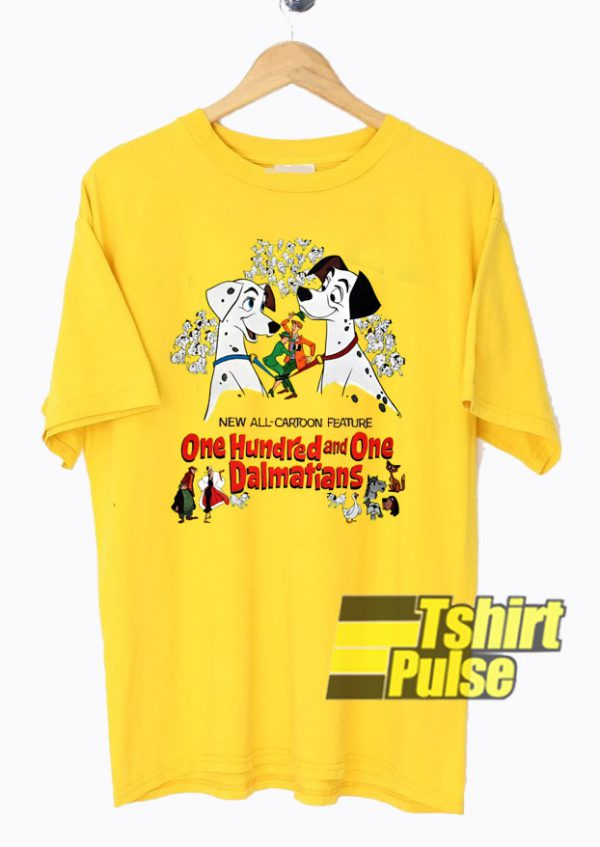 Disney 101 Dalmatians t shirt for men and women tshirt