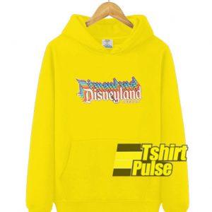 Disneyland Resort hooded sweatshirt clothing unisex hoodie