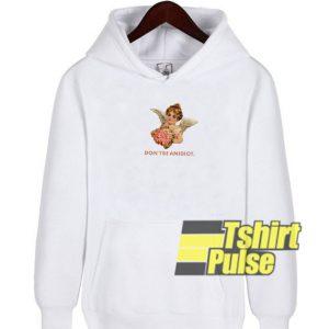 Don't Be An Idiot Angel hooded sweatshirt clothing unisex hoodie