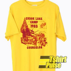 Endor Lake Camp Counselor t-shirt for men and women tshirt