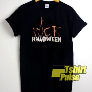 Fuck Halloween t-shirt for men and women tshirt