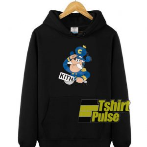 Kith Captain Crunch hooded sweatshirt clothing unisex hoodie