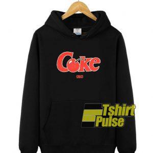 Kith x Coke Cherry hooded sweatshirt clothing unisex hoodie