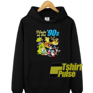 Made In The 90's Graphic hooded sweatshirt clothing unisex hoodie