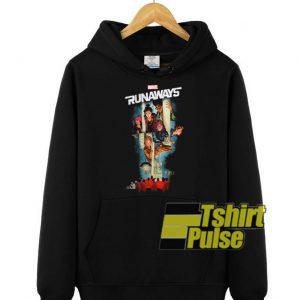Marvel Runaways Poster hooded sweatshirt clothing unisex hoodie