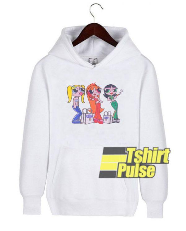Millennial Powerpuff Girl hooded sweatshirt clothing unisex hoodie