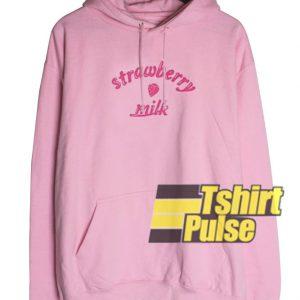 Sweet Strawberry Milk hooded sweatshirt clothing unisex hoodie