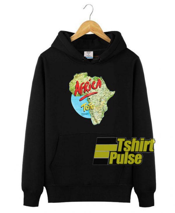 Toto Africa hooded sweatshirt clothing unisex hoodie