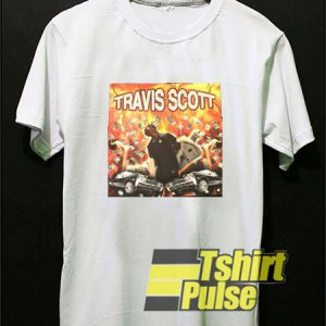 Travis Scott Diamond t-shirt for men and women tshirt