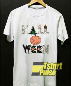Vintage Halloween Horror Night t-shirt for men and women tshirt