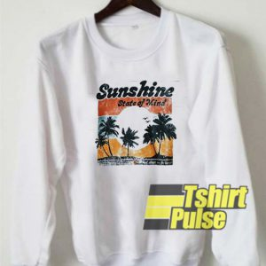 Vtg Sunshine State of Mind sweatshirt