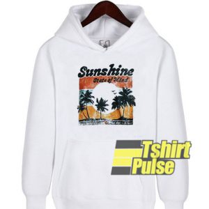 Vtg Sunshine State of Mind hooded sweatshirt clothing unisex hoodie