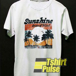 Vtg Sunshine State of Mind t-shirt for men and women tshirt