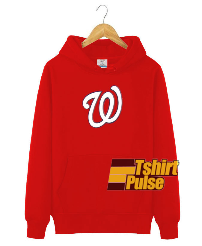 Washington Nationals Logo Hooded Sweatshirt Clothing Unisex Hoodie