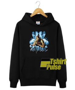 2pac Tupac Shakur Art hooded sweatshirt clothing unisex hoodie