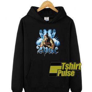 2pac Tupac Shakur Art hooded sweatshirt clothing unisex hoodie