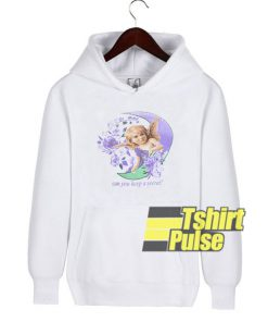 Angel Keep Secret hooded sweatshirt clothing unisex hoodie