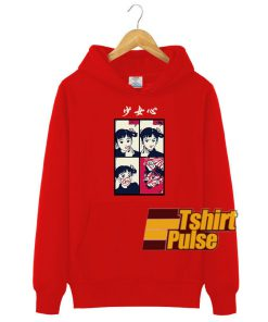 Anime Girl Red Lipstick hooded sweatshirt clothing unisex hoodie