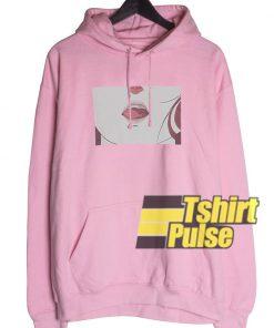 Anime Lips hooded sweatshirt clothing unisex hoodie