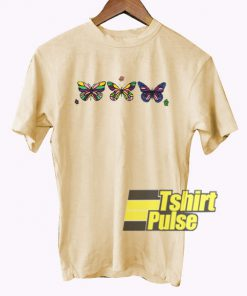 Butterflys Colour t-shirt for men and women tshirt