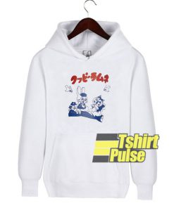 Cartoon Bunny Japanese hooded sweatshirt clothing unisex hoodie